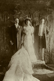 Teddy,Alice and Nicholas in 1906