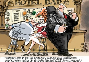 A legislator walks into a bar...